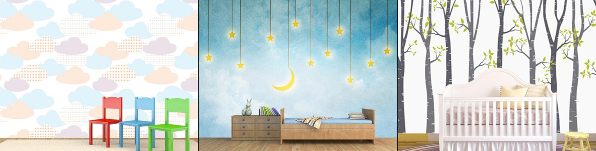 Baby Room 3D Photo Wallpaper
